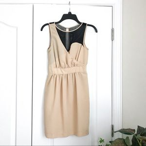Urban Outfitter / Sparkle & Fade Nude Mesh Dress